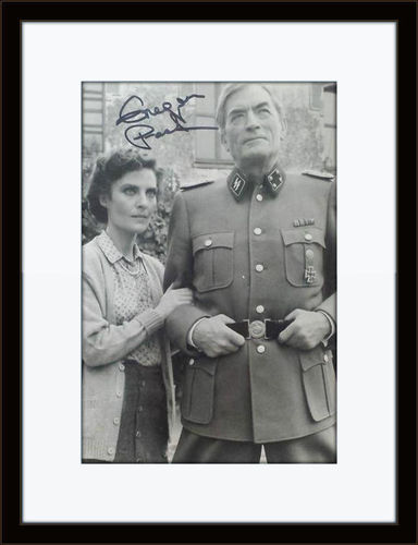 Framed Gregory Peck Authentic Autograph with COA