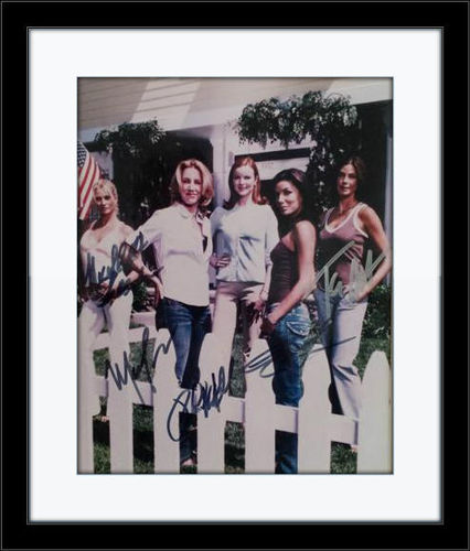 Framed Desperate Housewives Cast Authentic Autograph with COA