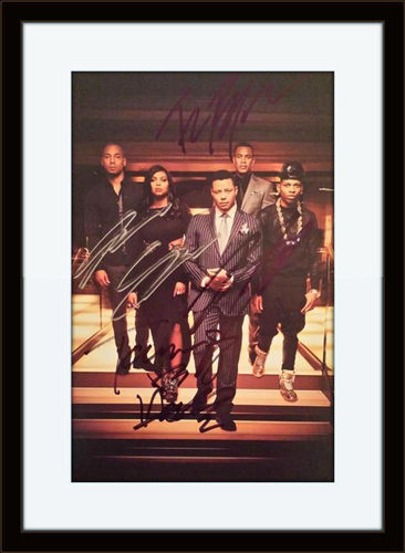 Framed Empire Cast Members Signed Authentic Autograph with COA