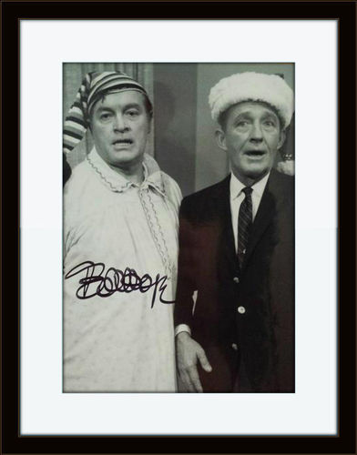 Framed Bob Hope Authentic Autograph with COA