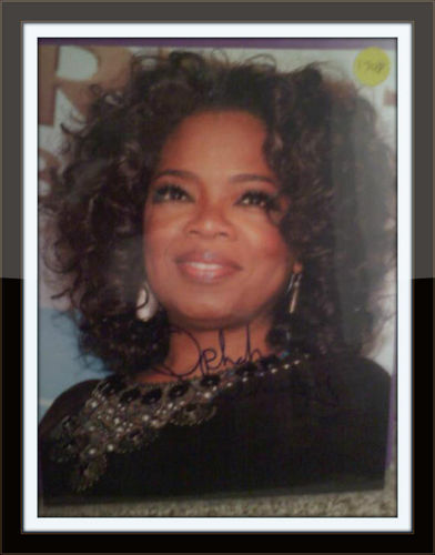 Oprah Winfrey Authentic Autograph with COA