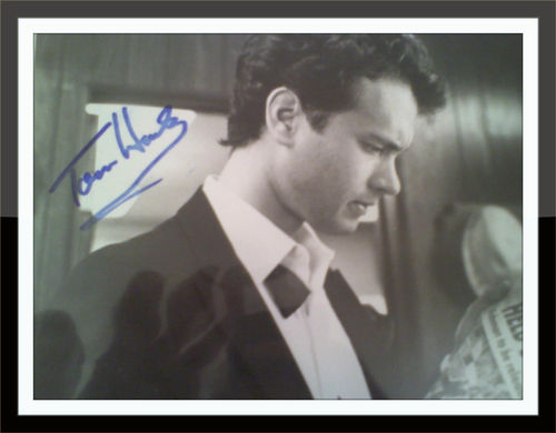 Tom Hanks Authentic Autograph with COA