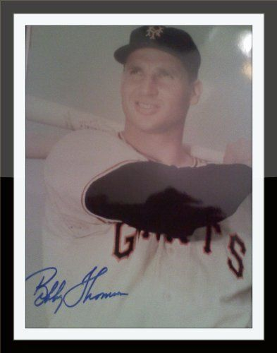 Bobby Thomson Authentic Autograph with COA