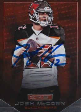 Josh McCown Autograph On Card with COA