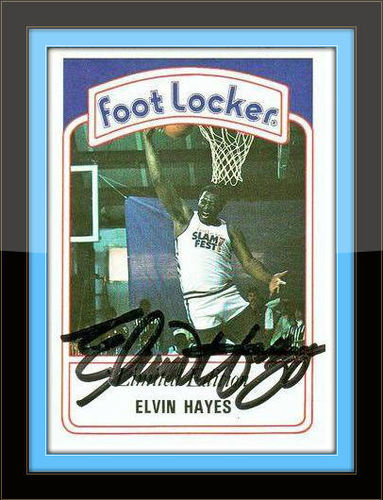 Elvin Hayes Autograph on Sports Card with COA