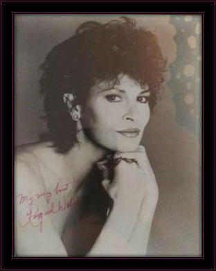 Framed Raquel Welch Authentic Autograph with COA