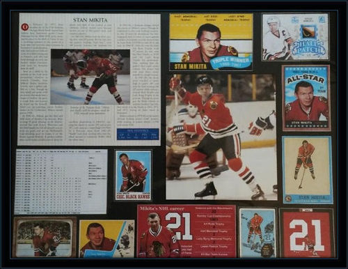 Stan Mikita History Collage