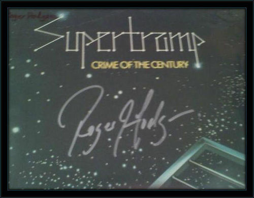 Supertramp Roger Hodgson Authentic Album Autograph with COA