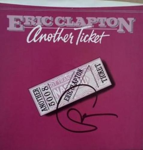 Eric Clapton Auto on 45RPM Rare with COA