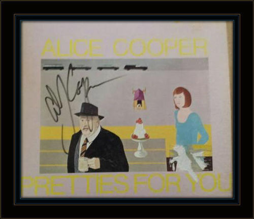 Alice Cooper Authentic Album Autograph with COA