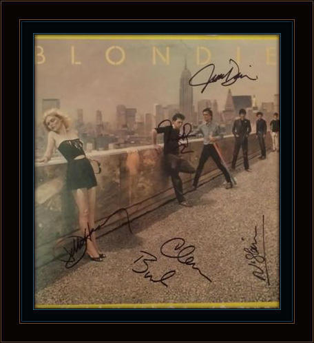 Blondie Deborah Harry Authentic Album Autograph with COA