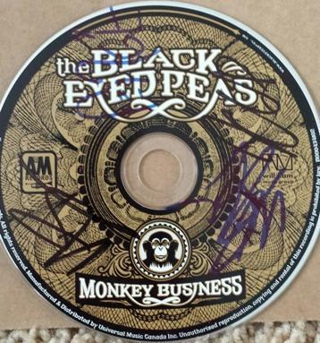 Black Eyed Peas Autograph(s) on CD with COA