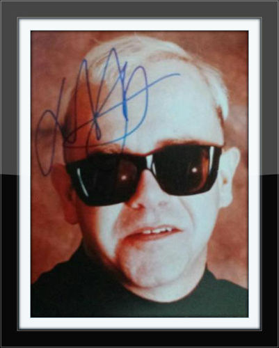 Framed Elton John Authentic Autograph 8x10 with COA