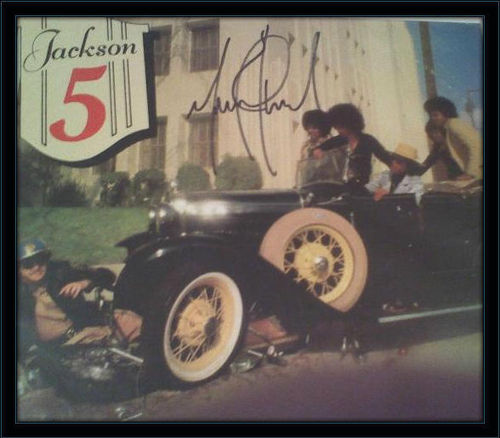 Michael Jackson Authentic Album Autograph with COA