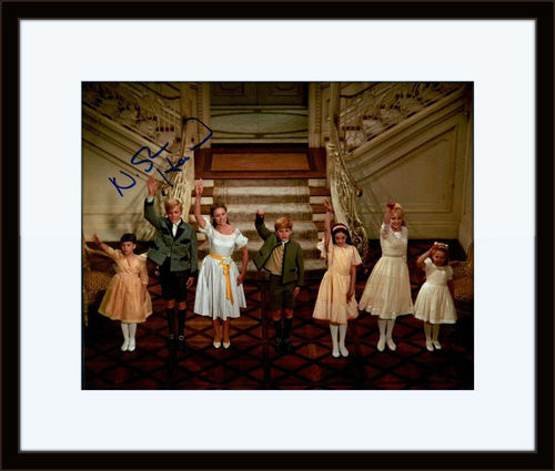 Framed Nicholas Hammond Sound of Music Authentic Autograph with COA