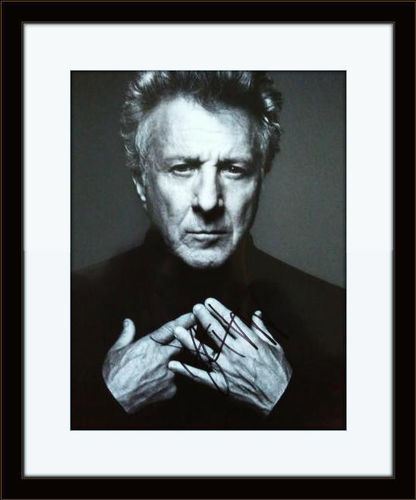 Framed Dustin Hoffman Photo Autograph with COA