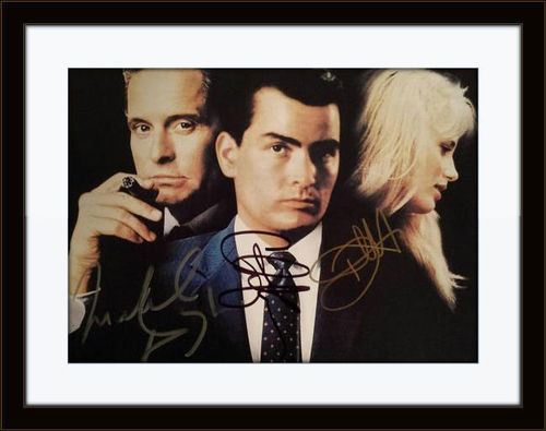 Framed Douglas Sheen Hannah Wallstreet Photo Autograph with COA