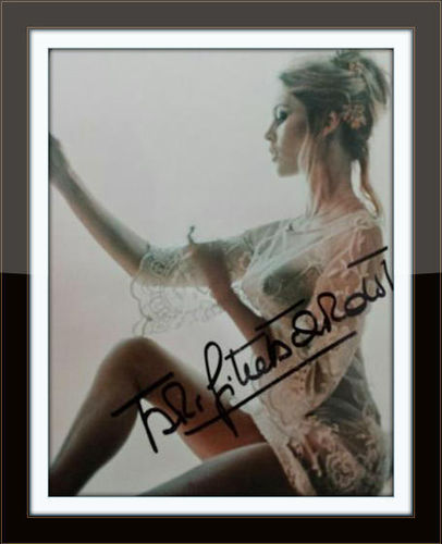 Framed Brigette Bardot Authentic Autograph with COA