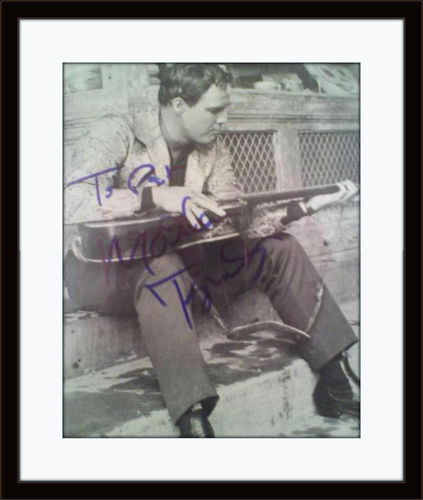 Framed Marlon Brando Authentic Autograph with COA