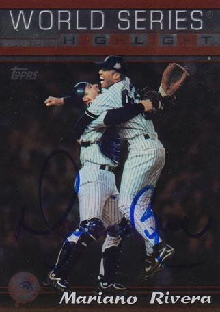 Mariano Rivera Yankees Autograph On Card with COA