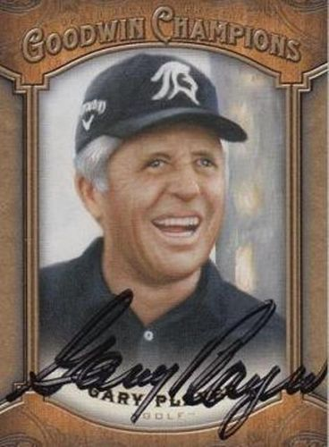 Gary Player Autograph On Card with COA